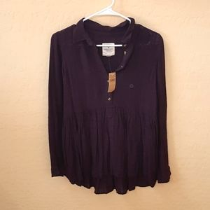 American Eagle Outfitters Small Tunic Blouse NWT